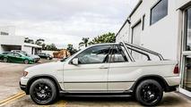BMW X5 transformed into a pickup
