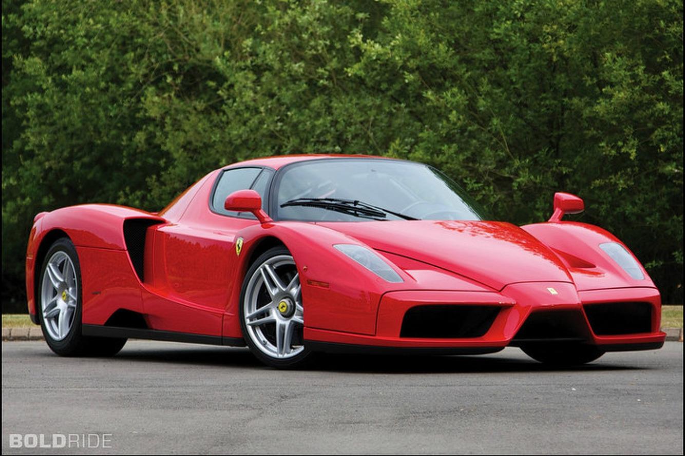 Mechanic Crashes Owner's Ferrari Enzo in CT