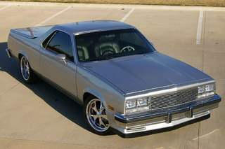 This '80s El Camino is a Modern Day V8 Showstopper