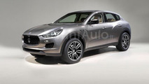 Maserati Levante render looks like a real image