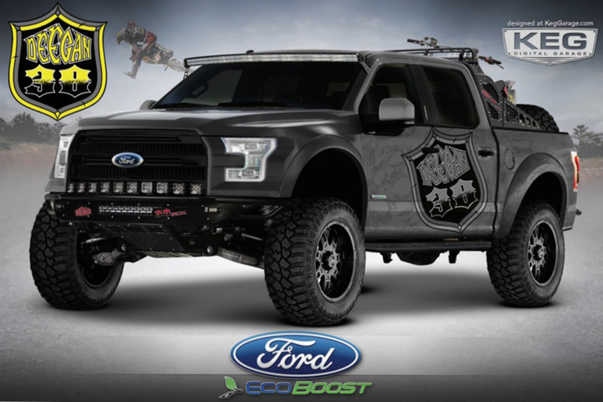 Pair of Tricked-Out Ford F-150s Bound for SEMA
