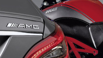 AMG to cooperate with Ducati: Mercedes-Benz CLS AMG and Ducati 17.11.2010