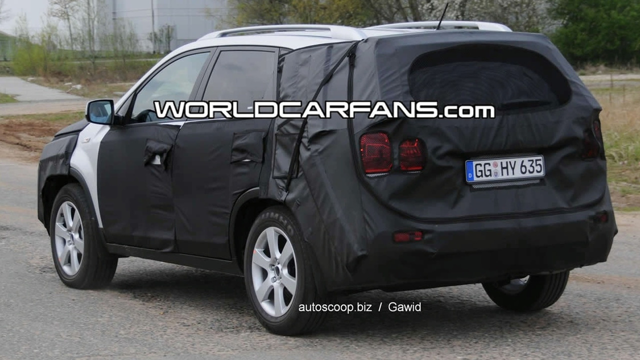 Kia Sorento Spy Photo