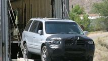 2006 Honda Pilot facelift spy photos