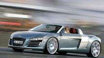 Audi R8 Targa Artists Rendering