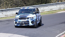 Range Rover Sport RS spy photo