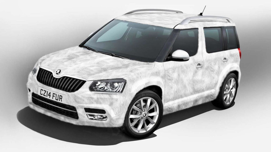 Skoda prepares Yeti Ice special edition with faux fur exterior finish