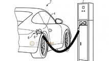 Porsche 911 plug-in hybrid revealed in a patent photo?