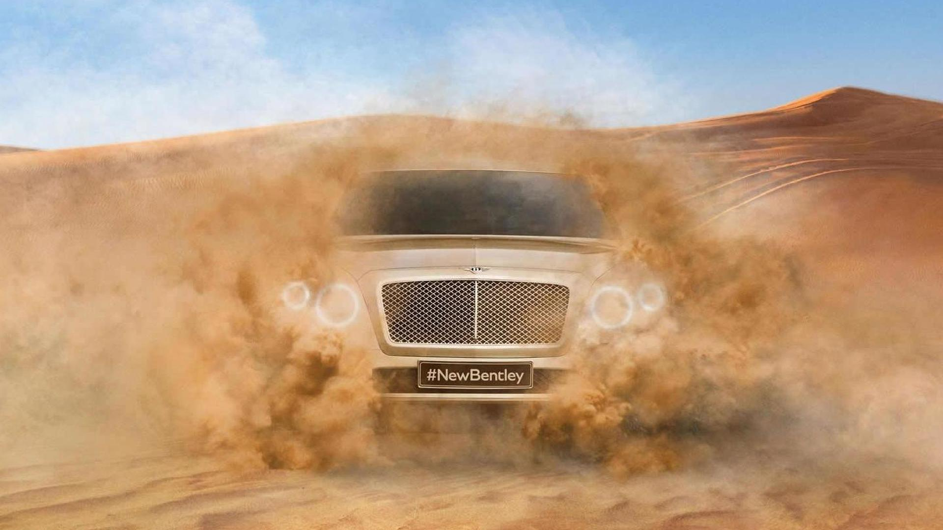 Bentley teases first ever SUV, due in 2016