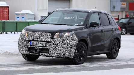 Suzuki Vitara spied with an updated face