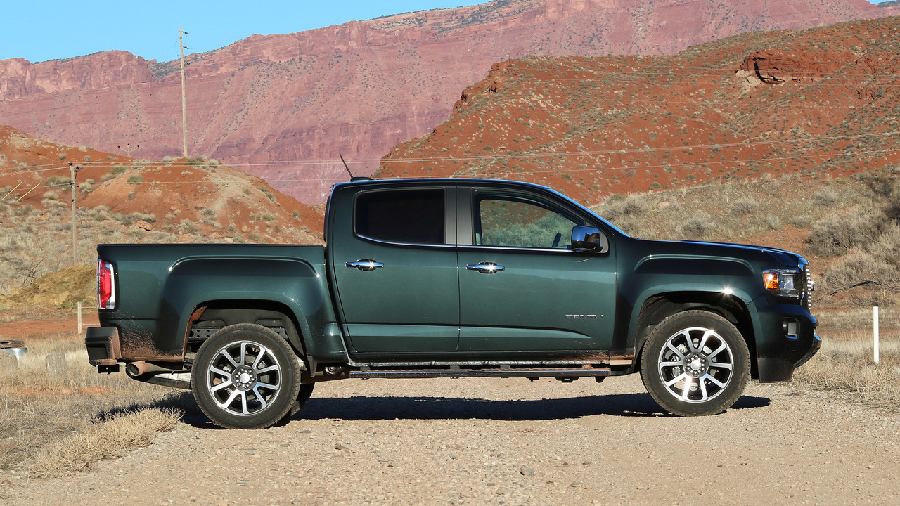 2017 Tacoma Towing Capacity >> 2017 GMC Canyon Denali Review: What am I paying for, again?