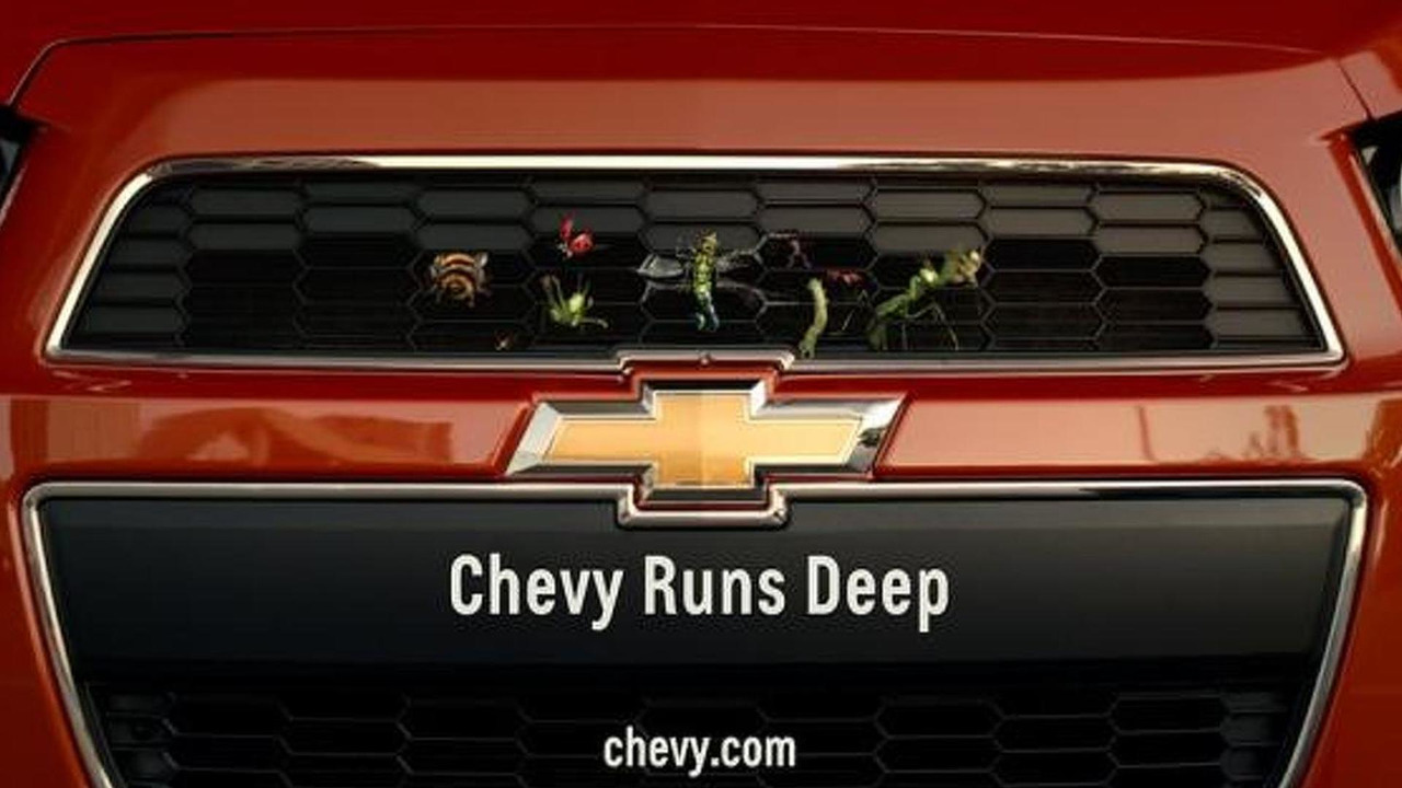 Chevrolet Chevy Runs Deep Super Bowl commercial screenshot 02.02.2012