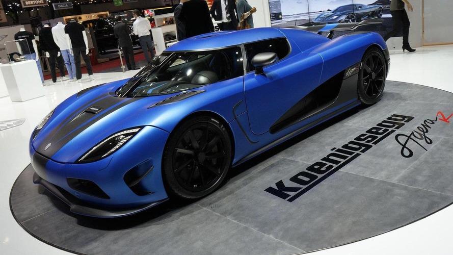 Updated 2013 Koenigsegg Agera R live in Geneva