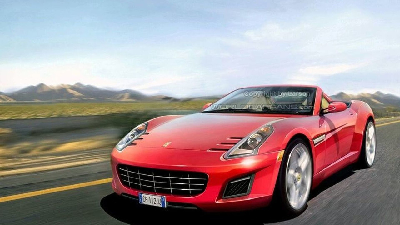 Baby Ferrari Artists Rendering