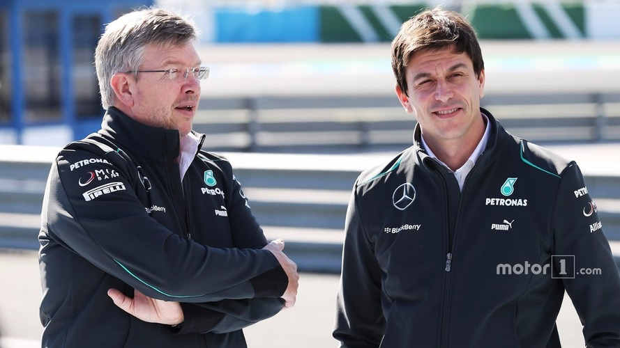 Brawn says he quit Mercedes because he didn't trust Wolff, Lauda