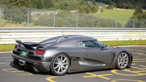 2015 Koenigsegg Agera R development car spied on Nürburgring