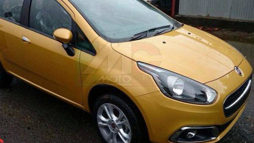 Fiat Punto facelift first pictures leaked