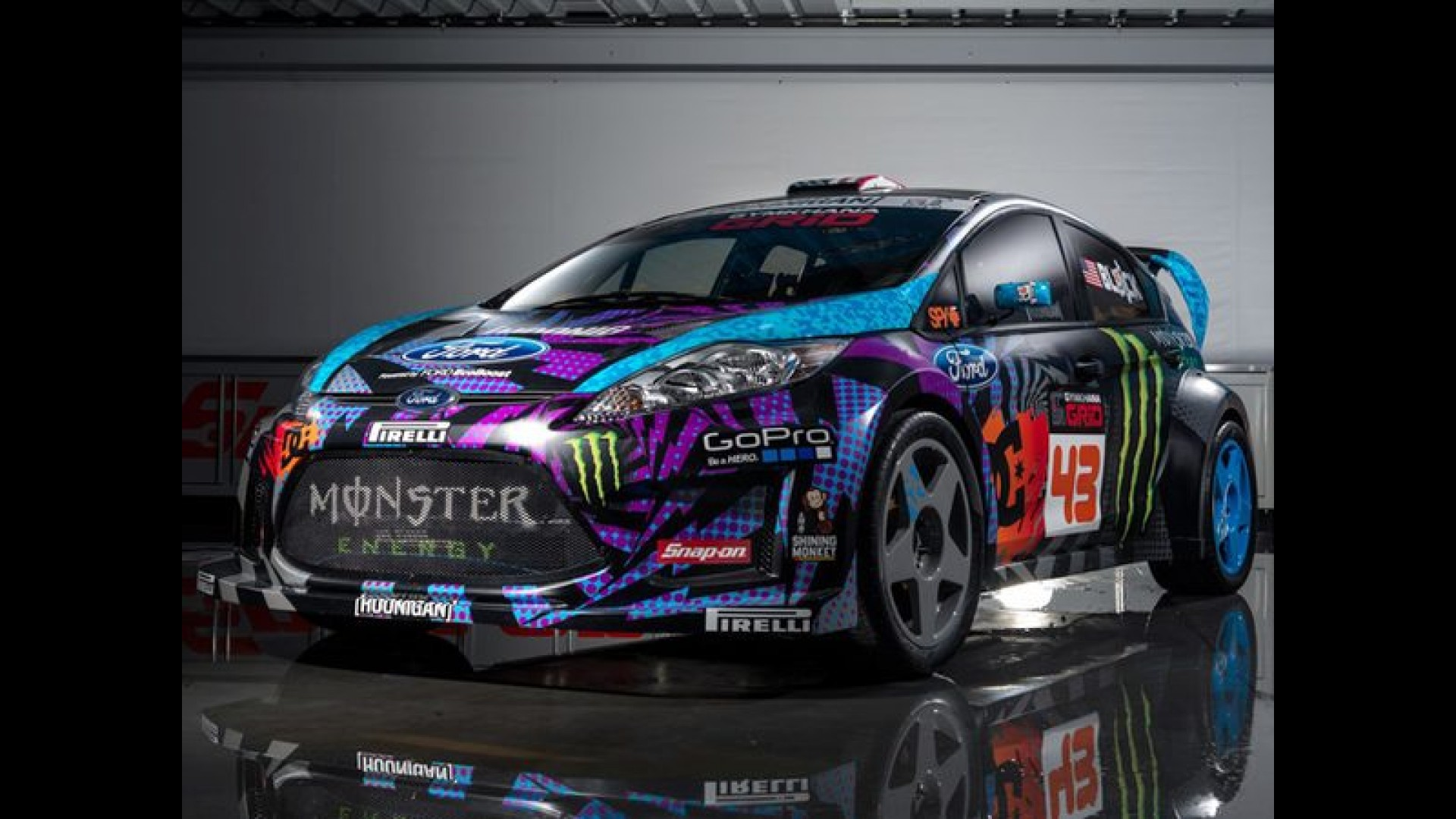 ford fiesta rs ken block. Black Bedroom Furniture Sets. Home Design Ideas