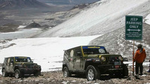 Jeep Wrangler Unlimited Sets Altitude Record