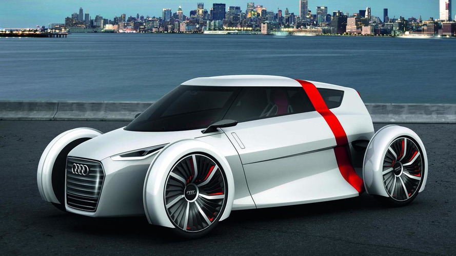 Audi Urban Concept out in the wild - more photos