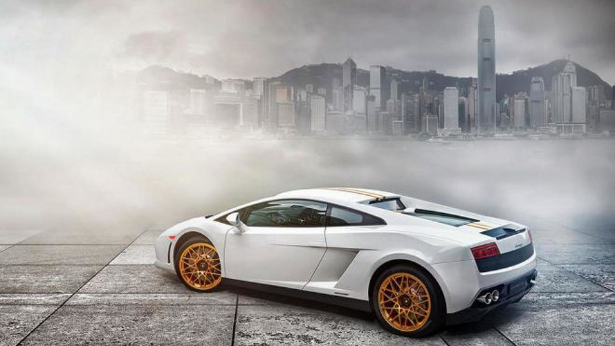 Lamborghini Gallardo LP550-2 Hong Kong 20th Anniversary Edition revealed