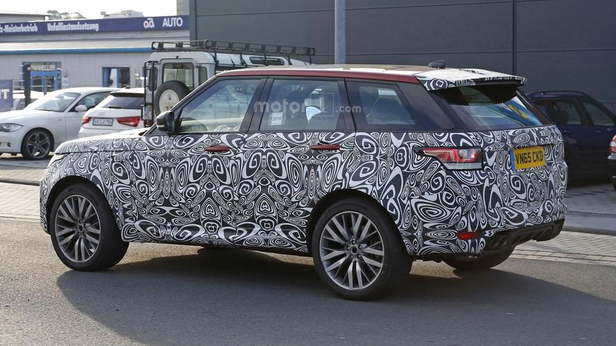 Range Rover SVR facelift spy photos