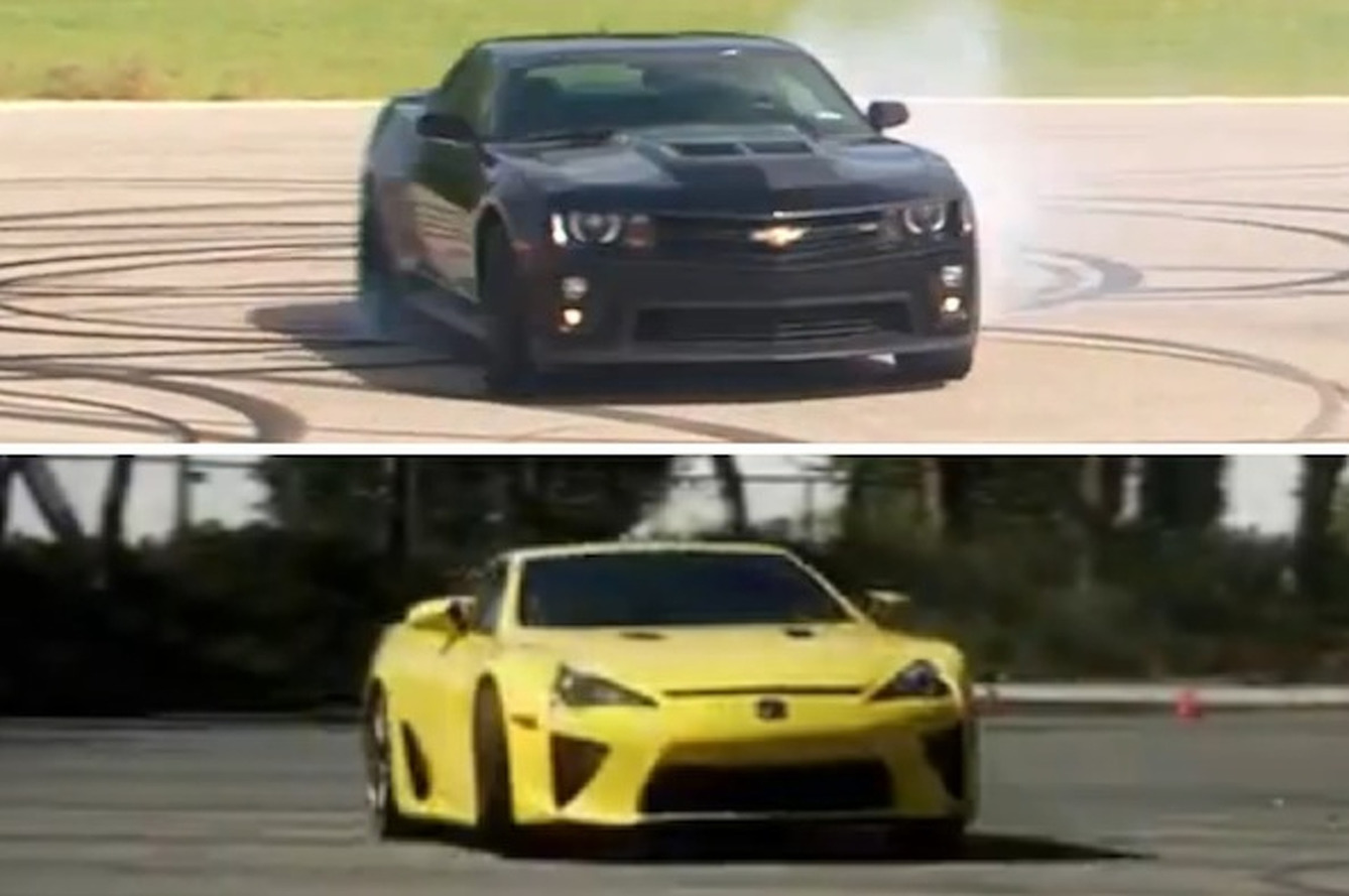 How Do You Like Your Donuts- ZL1 or LFA? [videos]
