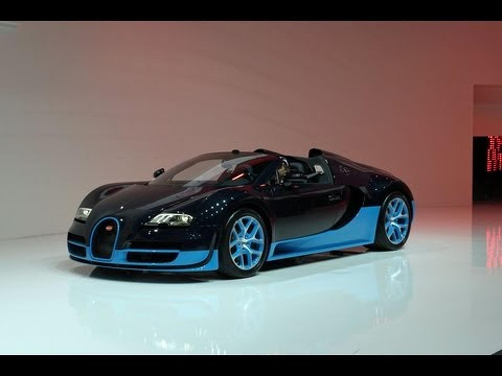 Bugatti Veyron Grand Sport Vitesse - 2012 Geneva Auto Show
