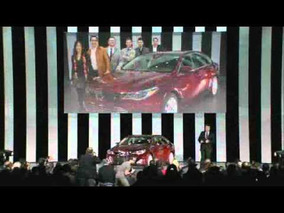 2013 Toyota Avalon Reveal at the 2012 New York Auto Show