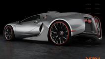 Bugatti Renaissance artist rendering - 1280
