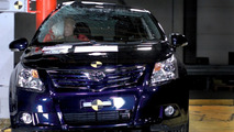 Toyota Avensis Euro NCAP crash test 2009