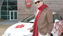 Citroën C4 Arsenal Fans Car & Gerald Scrafe