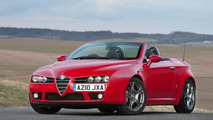 Alfa Romeo Brera and Spider get new engines in U.K.