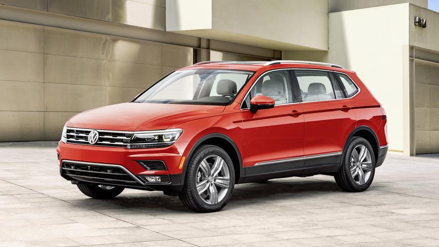 Detroit auto show reveal: Volkswagen Tiguan