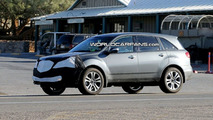 Acura MDX Facelift Spy Photos