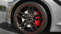 2016 Corvette Stingray and Z06 Jet Black Suede Design Package