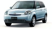 Partially Remodeled Mazda Verisa