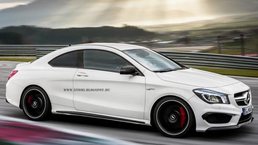 Mercedes CLA45 AMG gets envisioned as a coupe