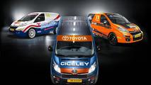 2013 Toyota Proace for British Touring Van Championship 29.03.2013