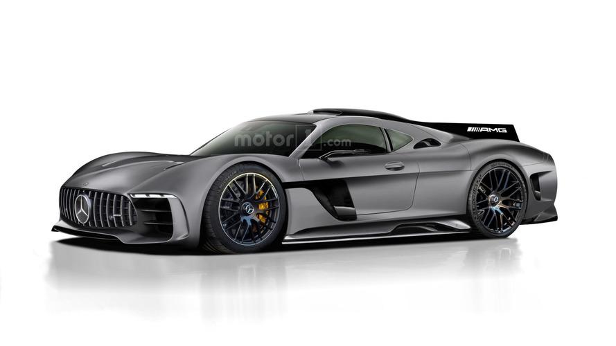 Projeção do Mercedes-AMG Project One mostra um belo supercarro