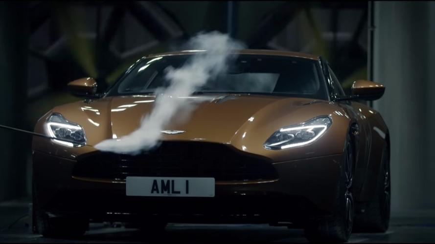 VIDÉO - L'Aston Martin DB11 dévoile ses secrets aérodynamiques