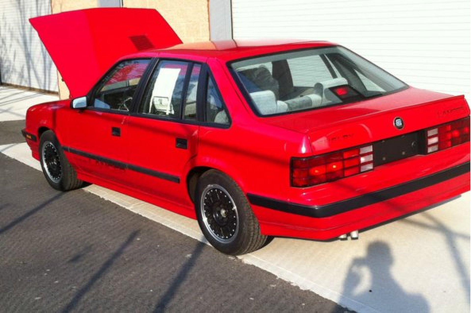 "eBay Car of the Week: This ""Museum Worthy"" 1987 Shelby Lancer"