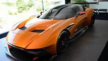 Aston Martin Vulcan looks epic with orange paint