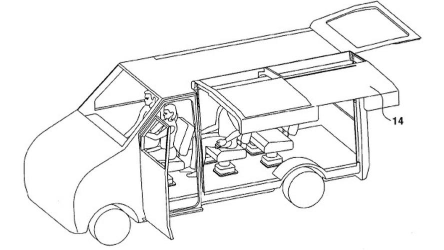 Hyundai applies for gullwing RV door patent