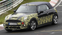 2015 MINI Cooper S Cabrio spied at the Nurburgring