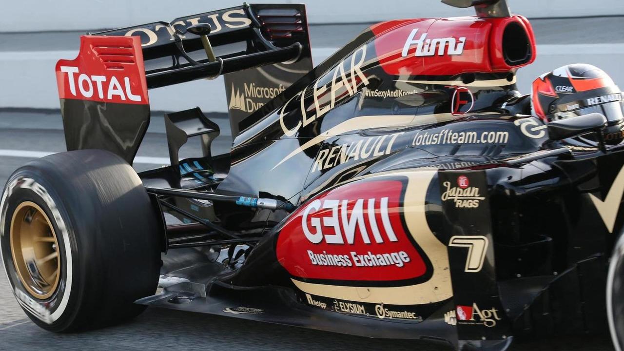 Lotus F1 E21 03.03.2013 Formula One Testing Barcelona Spain