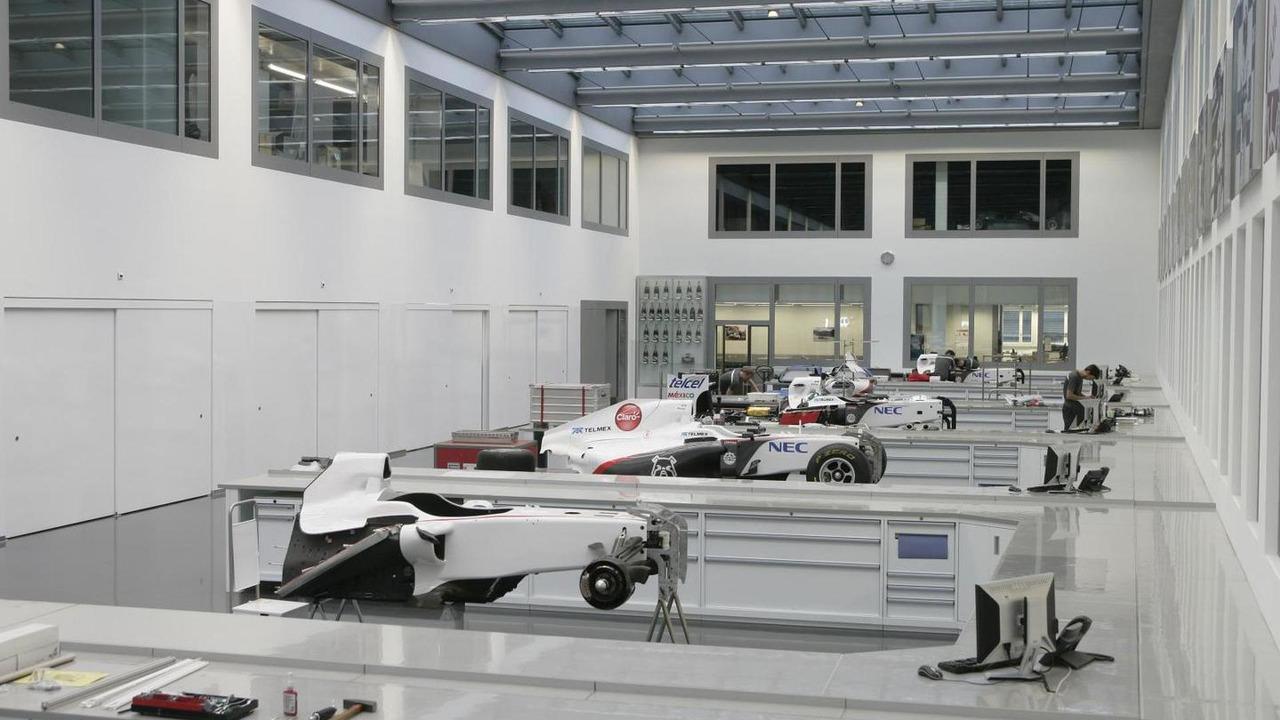 Sauber Hinwil factory 2012
