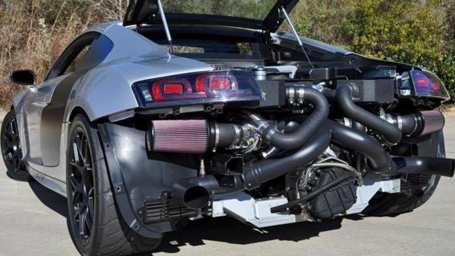 Audi R8 GT with 1,150 whp unleashed by Underground Racing, 1,800+ whp with race gas