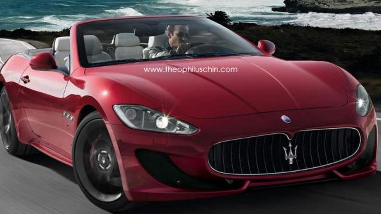 Maserati GranCabrio Sport artist rendering