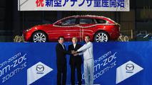 2014 Mazda6 enter production, wagon variant revealed